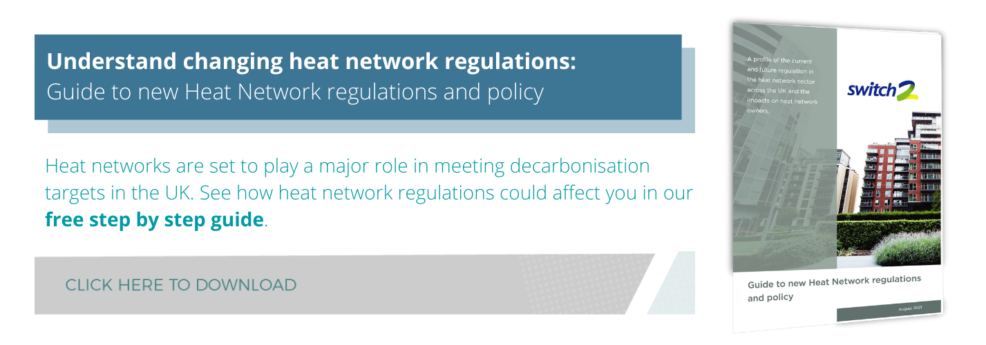 Eguide CTA Guide to new Heat Network regulations and policy